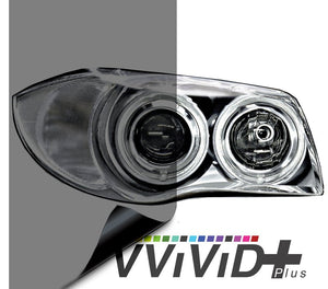 VVIVID VINYL 2020 VVIVID+ LIGHT SMOKE AIR-TINT HEADLIGHT TINT