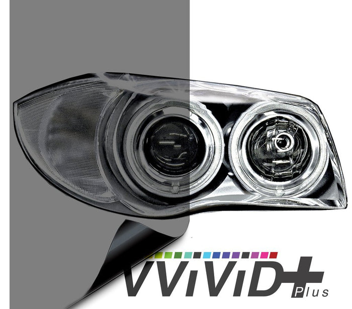 VVIVID VINYL 2020 VVIVID+ LIGHT SMOKE AIR-TINT HEADLIGHT TINT | V319