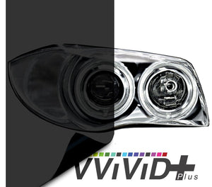 VVIVID VINYL 2020 VVIVID+ DARK SMOKE AIR-TINT HEADLIGHT TINT
