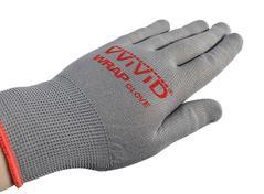 VVIVID GRAY PROFESSIONAL VINYLWRAP ANTI-STATIC APPLICATOR GLOVE PAIR (2 GLOVE PACK)