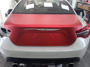 VVIVID VINYL XPO SATIN CHROME RED