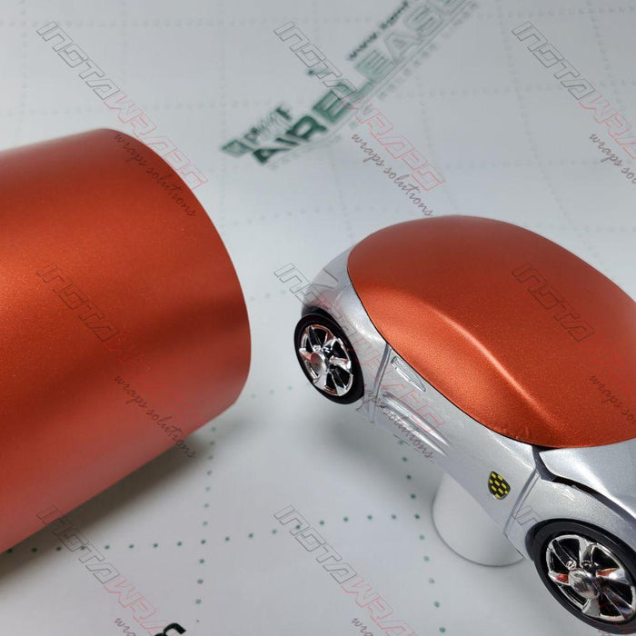 KPMF K75400 SERIES MATTE ICED ORANGE TITANIUM VINYL WRAP | K75502