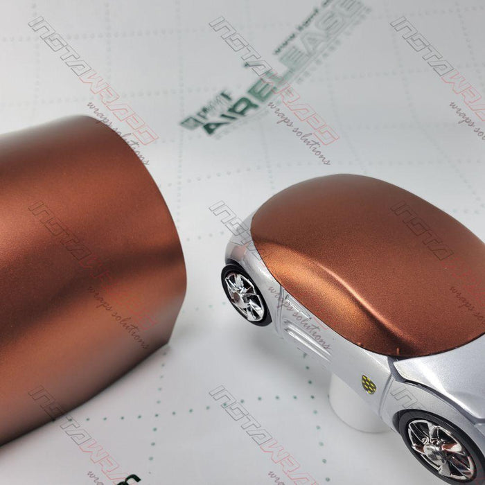 KPMF K75400 SERIES MATTE AUTUMN FIRE METALLIC VINYL WRAP | K75554