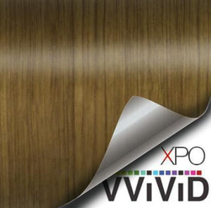 VVIVID VINYL TEAK WOOD GRAIN ARCHITECTURAL FILM