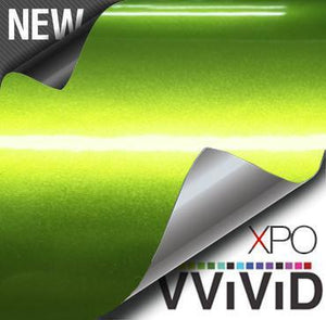 VVIVID VINYL XPO LIQUID METAL VIPER LIME GREEN