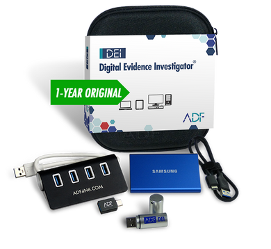 Digital Evidence Investigator Forensic Kit with 1 Year Subscription Maintenance and Support
