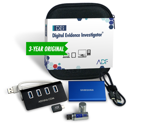 Digital Evidence Investigator Forensic Kit with 3 Year Subscription Maintenance and Support