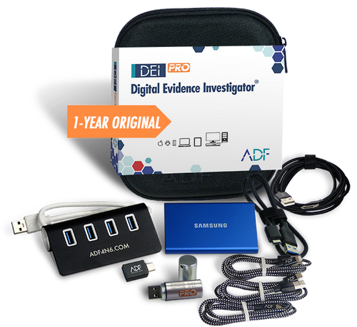 Digital Evidence Investigator PRO Kit with 1 Year Subscription Maintenance and Support