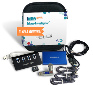 Triage-Investigator® PRO Kit with 3 Year Subscription Maintenance and Support