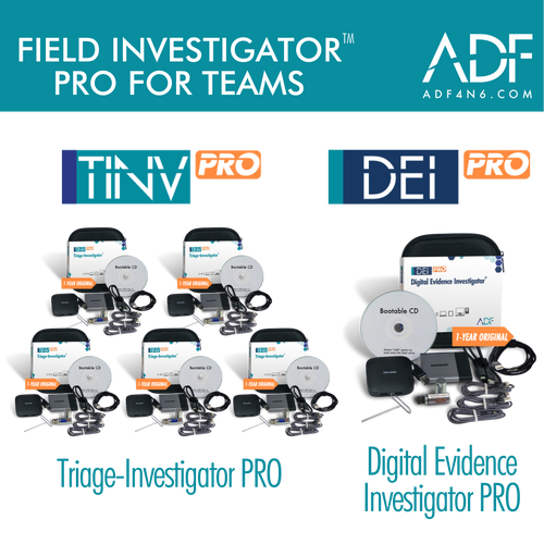 Field Investigator™ PRO for Teams (1 Year)