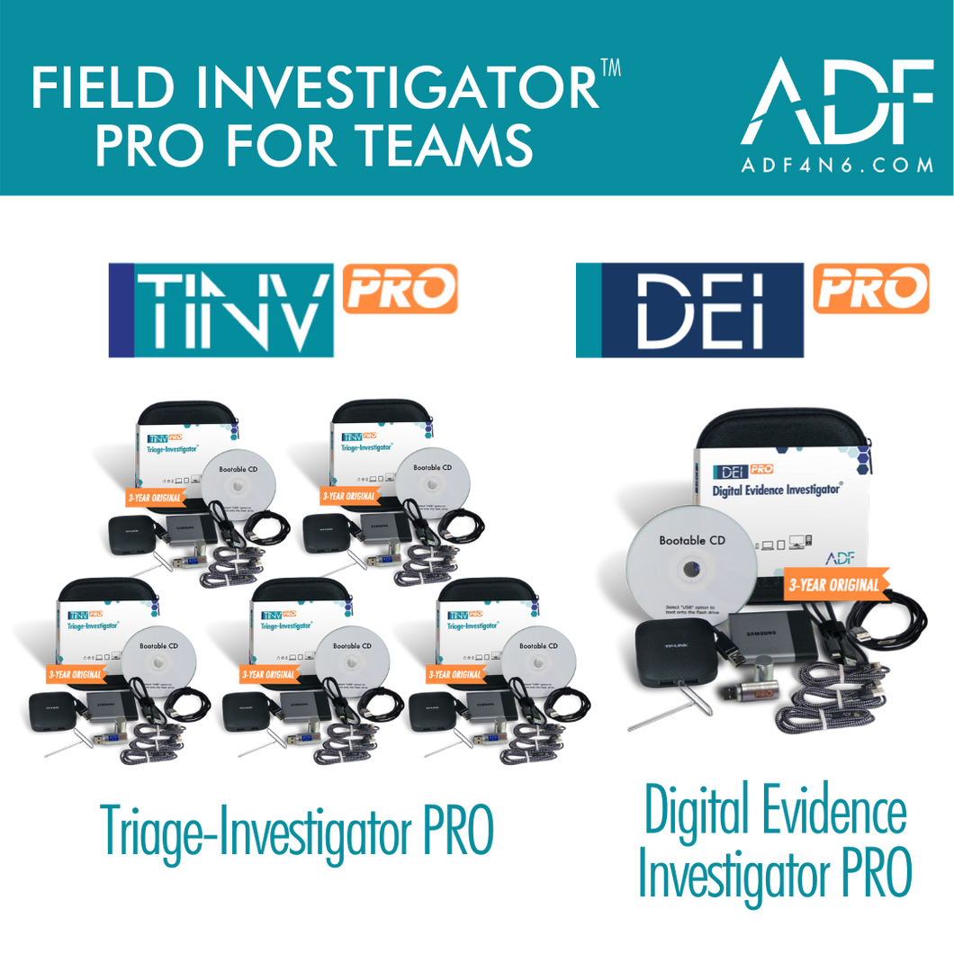 Field Investigator™ PRO for Teams (3 Years)