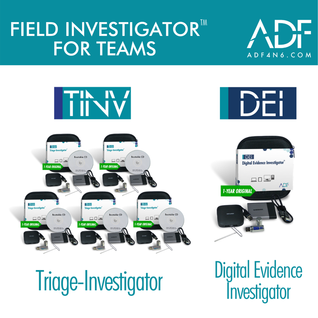 Field Investigator™ for Teams (1 Year)