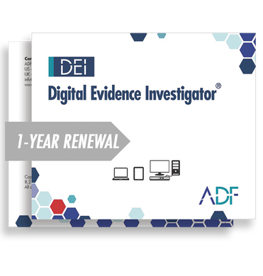 Digital Evidence Investigator 1 Year Subscription Maintenance and Support (Renewal)