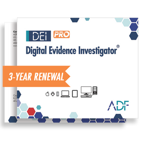 Digital Evidence Investigator® PRO 3 Year Subscription Maintenance and Support (Renewal)