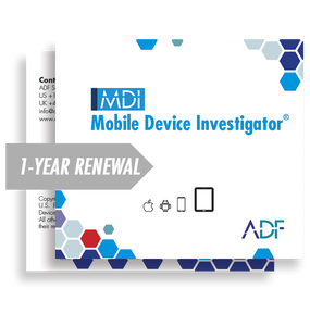 Mobile Device Investigator® 1 Year Subscription Maintenance and Support (Renewal)