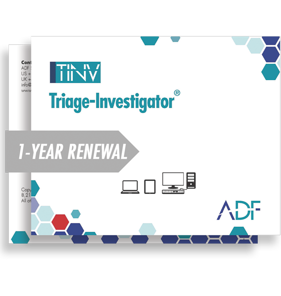 Triage-Investigator 1 Year Subscription Maintenance and Support (Renewal)