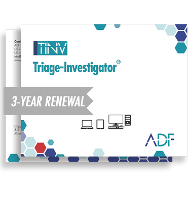 Triage-Investigator 3 Year Subscription Maintenance and Support (Renewal)