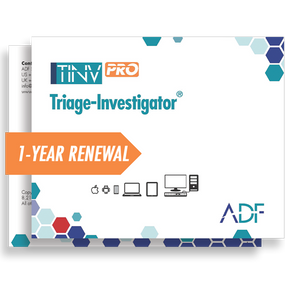 Triage-Investigator PRO 1 Year Subscription Maintenance and Support (Renewal)