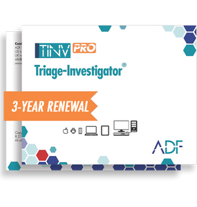 Triage-Investigator PRO 3 Year Subscription Maintenance and Support (Renewal)
