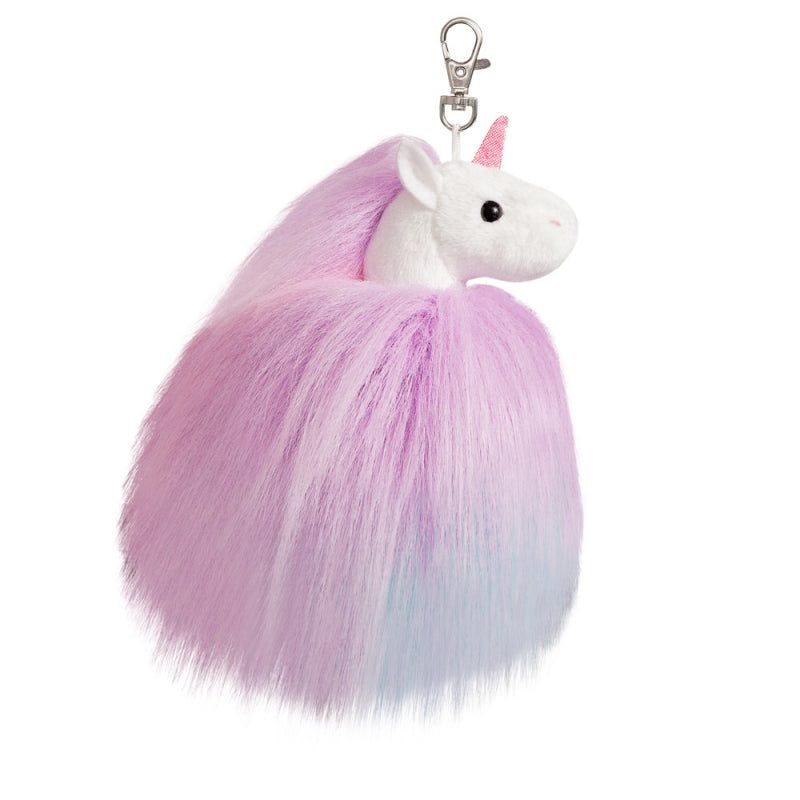 Fluffy Unicorn Keyclip