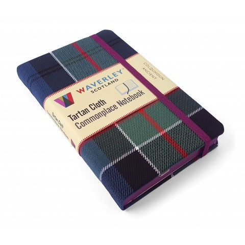 Tartan Covered Notebook