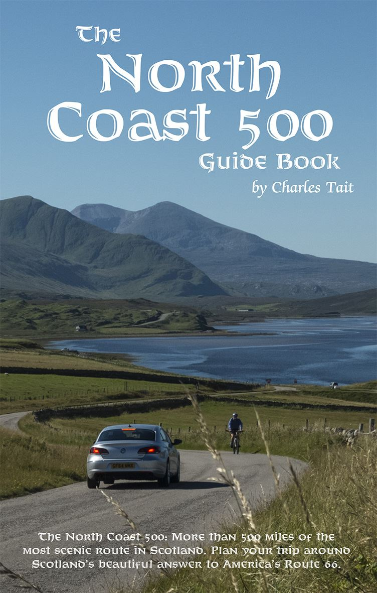 North Coast 500 Guide Book about Scotland