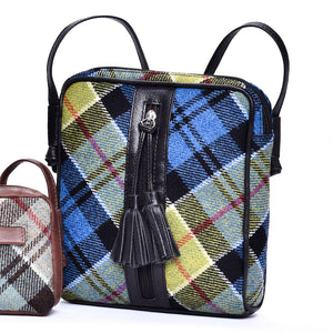 Dolly Bag in Ancient Colquhoun Tweed and Leather