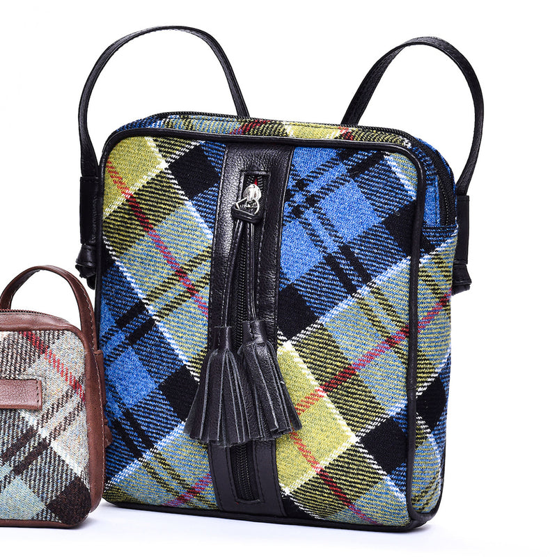 Dolly Bag in Ancient Colquhoun Tweed and Leather - Luss General Store
