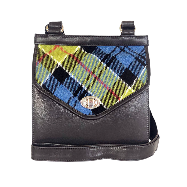 Blair Bag in Ancient Colquhoun Tweed and Leather - Luss General Store