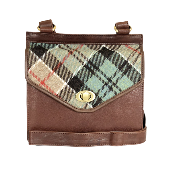 Blair Bag in Weathered Colquhoun Tweed and Leather - Luss General Store