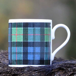 Colquhoun Tartan Print Bone China Mug - Luss General Store