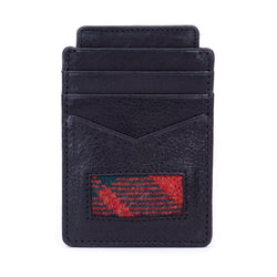 Card Holder in MacGregor Tweed & Leather
