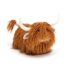 Charming Highland Cow - Jellycat Coo Toy - Luss General Store