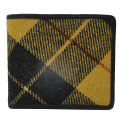 Card Wallet in MacLeod Tweed & Leather