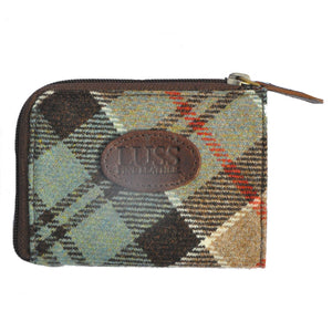 Pass Purse in Weathered Colquhoun Tartan Tweed
