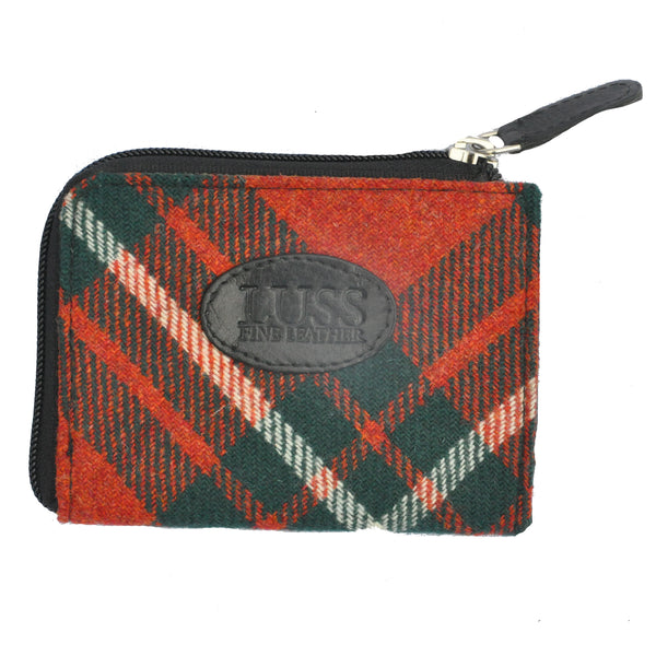 Pass Purse in MacGregor Tartan Tweed