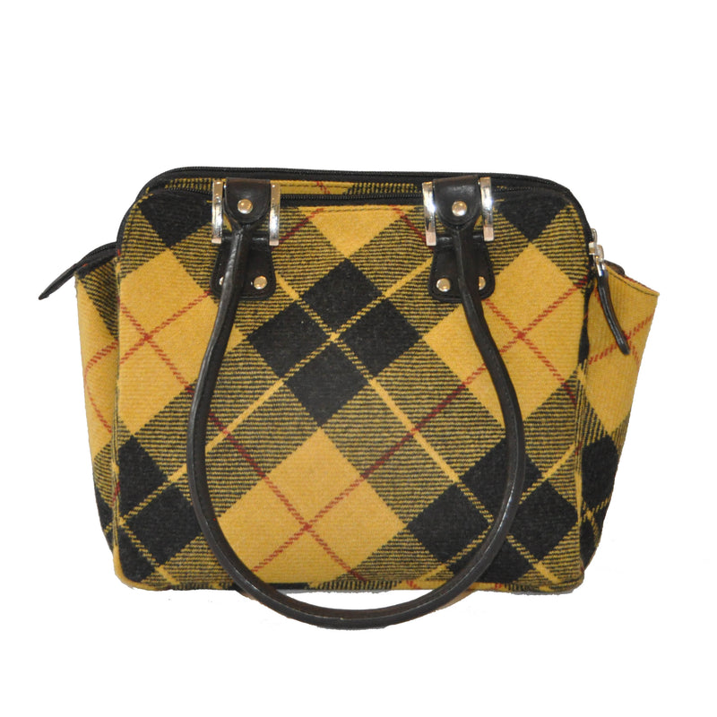 Sheila Bag in MacLeod Tweed & Leather