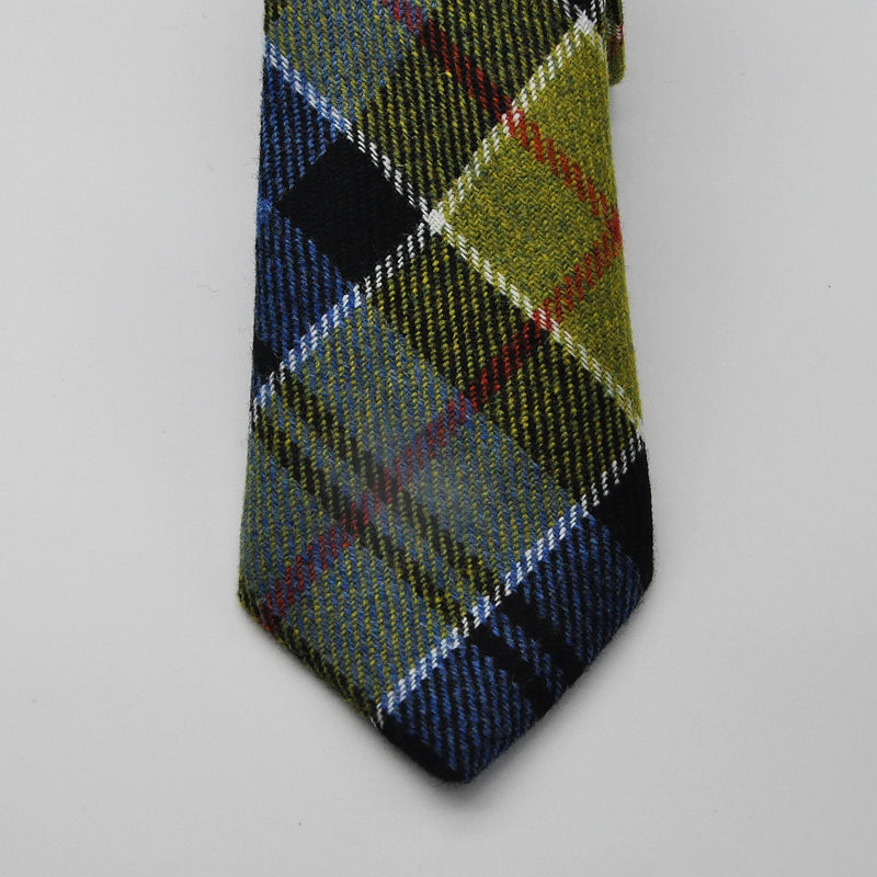 Tie in Ancient Colquhoun Tartan Tweed by Clare O'Neill