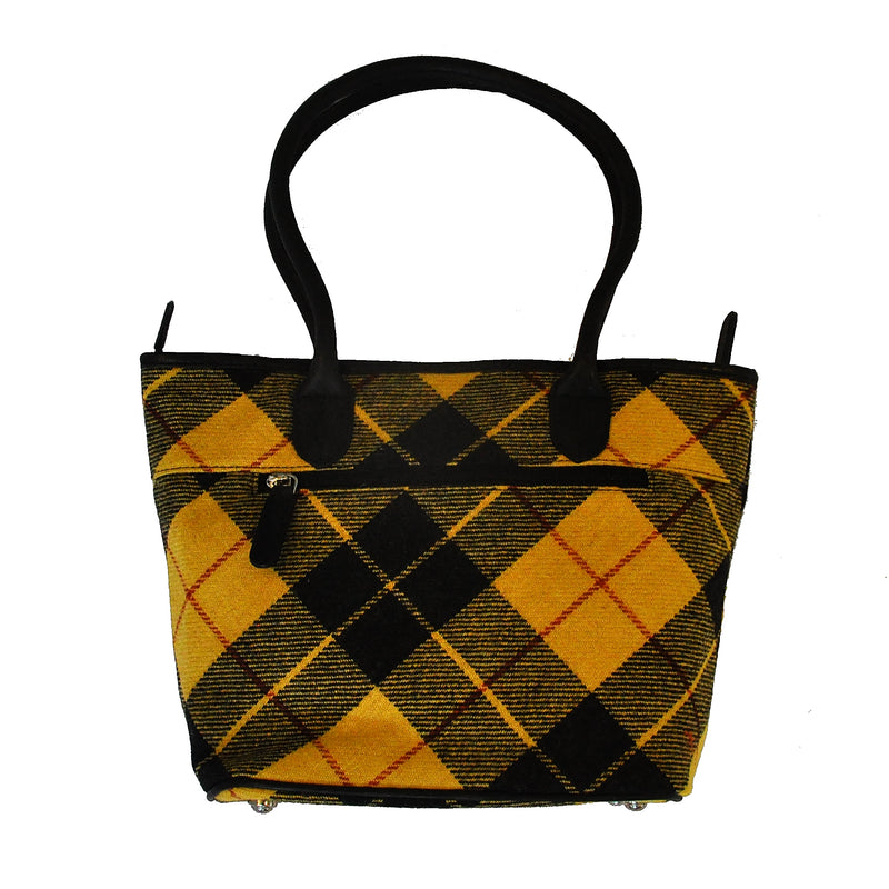 Fay Bag in MacLeod Tweed & Leather