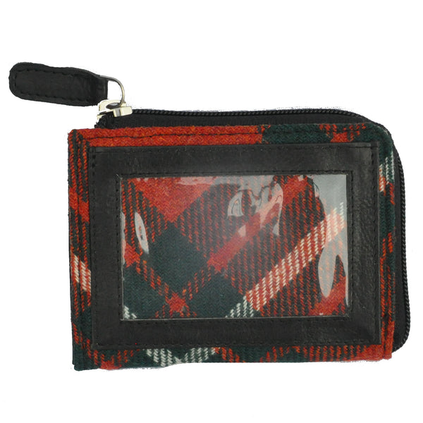 Pass Purse in MacGregor Tweed & Leather - Luss General Store