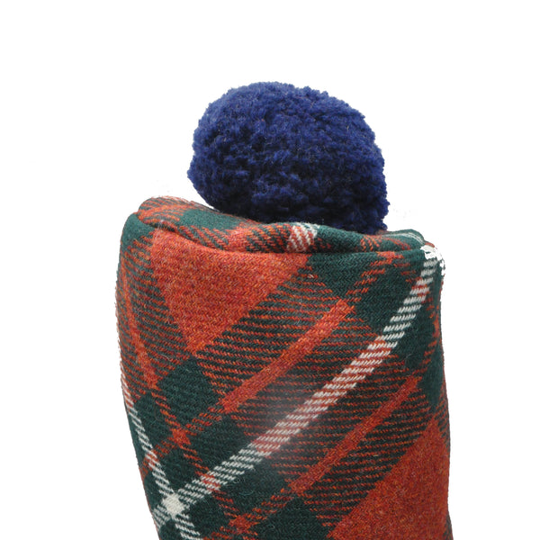 Golf Club Cover in Macgregor Tartan Tweed by Clare O'Neill