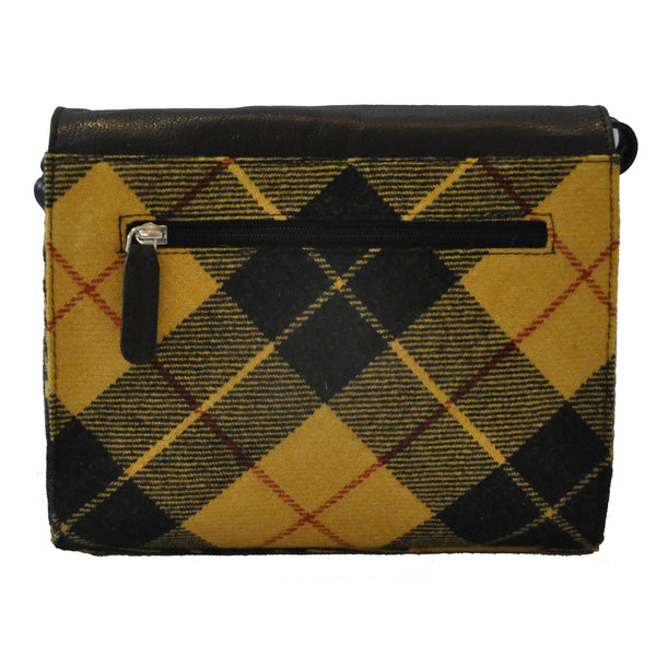 Heather Bag in Macleod Tartan Tweed
