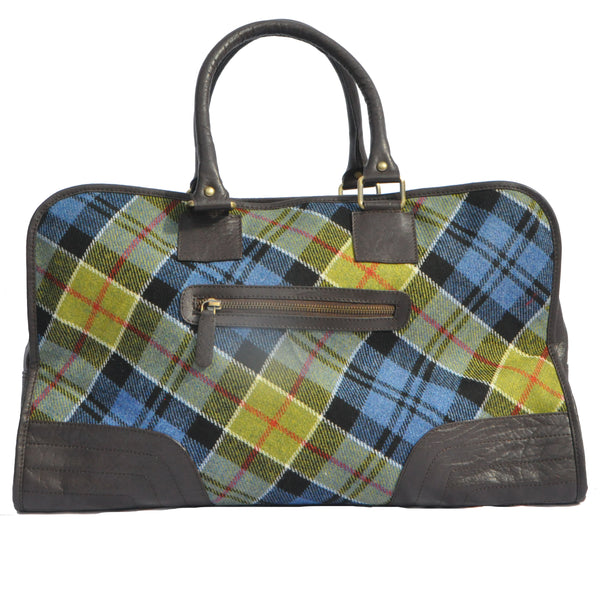 Holdall in Ancient Colquhoun Tweed & Leather