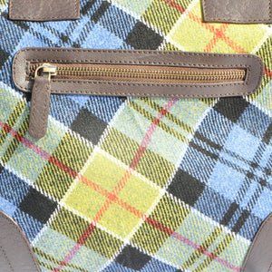 Holdall in Ancient Colquhoun Tartan Tweed