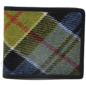 Coin Wallet in Ancient Colquhoun Tartan Tweed