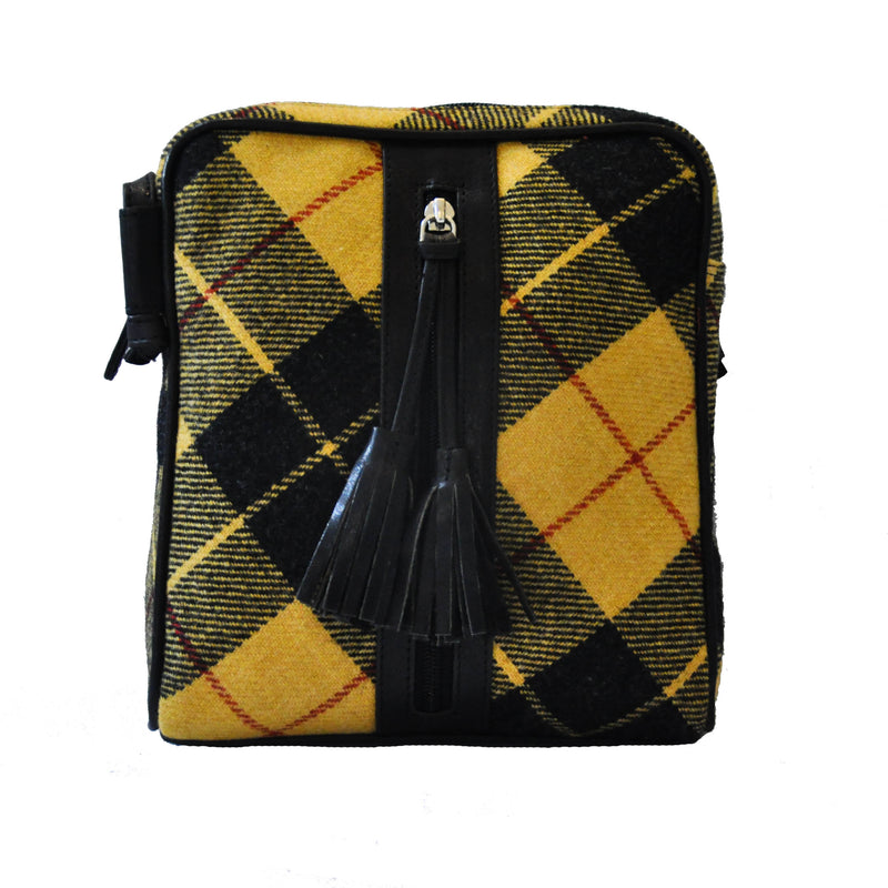 Dolly Bag in MacLeod Tweed & Leather