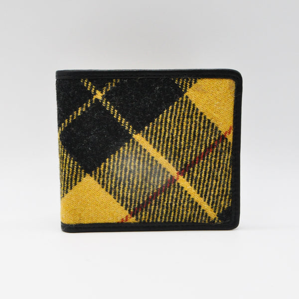 Coin Wallet in MacLeod Tweed & Leather