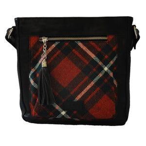 Iona Satchel in MacGregor Tartan Tweed