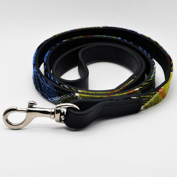 Dog Lead in Ancient Colquhoun Tartan Tweed - One Size