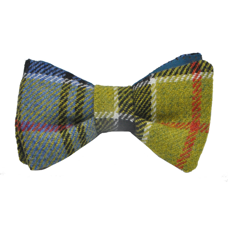 Bowtie in Ancient Colquhoun Tartan Tweed by Clare O'Neill